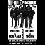 Tonight: Tenshun, Bat Lords, Babelfishh, Idols Plague & DJs Unite,…