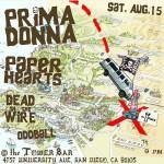 Tonight Prima Donna Paper Hearts Dead On The Wire amphellip