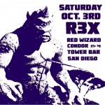 Tonight redwizardofficial R3X amp condortheband 9pm 5 Continue reading rarr