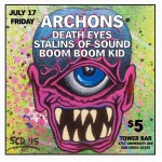 Friday Archons Death Eyes Stalins Of Sound amp Boom Boomhellip