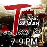 @trophymotorcycles presents Two Wheel Tuesday tonight at The Tower from…