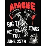 Tonight Apache Burger Big Tits The Soaks amp Red Tank!hellip