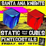 Tonight Santa Ana Knights ex Tiltwheel Static amp The Cubeshellip